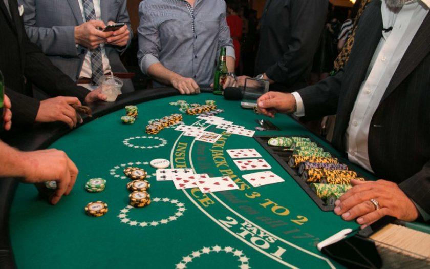 Spela blackjack