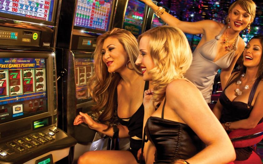 Att vara på ett casino